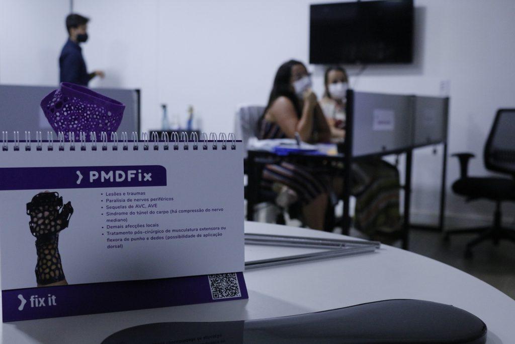 Fix it lança imersão para profissionais da saúde ensinarem sobre aplicação de órteses feitas em impressoras 3D 7