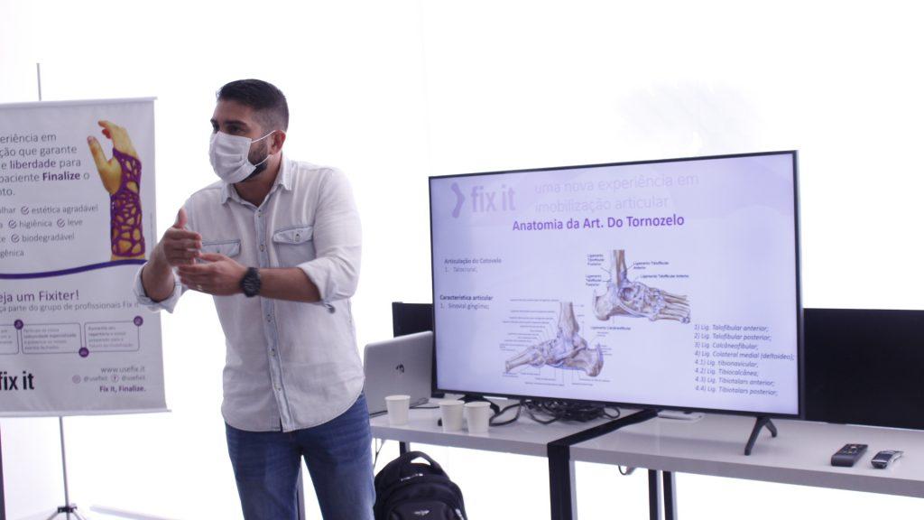 Fix it lança imersão para profissionais da saúde ensinarem sobre aplicação de órteses feitas em impressoras 3D 1