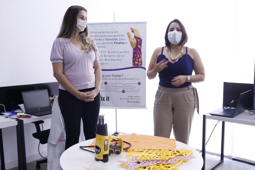 Fix it lança imersão para profissionais da saúde ensinarem sobre aplicação de órteses feitas em impressoras 3D 3
